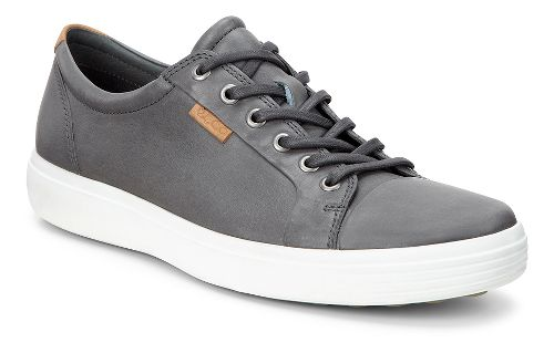 Mens Ecco Soft 7 Sneaker Casual Shoe - Dark Shadow 39