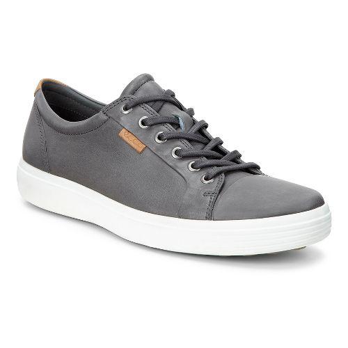 Mens Ecco Soft 7 Sneaker Casual Shoe - Dark Shadow 50