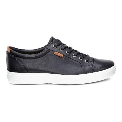 Mens Ecco Soft 7 Sneaker Casual Shoe - Black 45