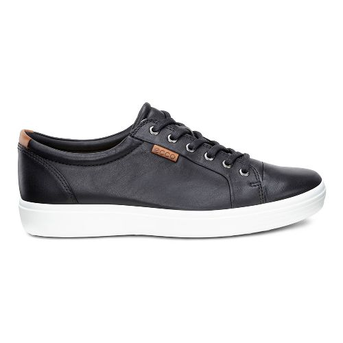 Mens Ecco Soft 7 Sneaker Casual Shoe - Black 48