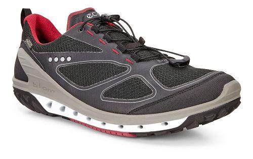 Mens Ecco Biom Venture GTX Casual Shoe - Black/Black/Brick 40