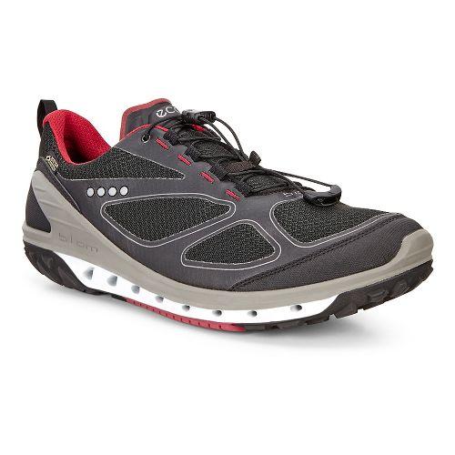 Mens Ecco Biom Venture GTX Casual Shoe - Black/Black/Brick 42
