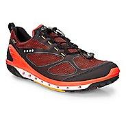 Mens Ecco Biom Venture GTX Casual Shoe - Black/Fire/Fanta 46