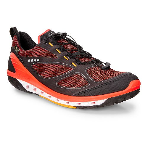 Mens Ecco Biom Venture GTX Casual Shoe - Black/Fire/Fanta 44