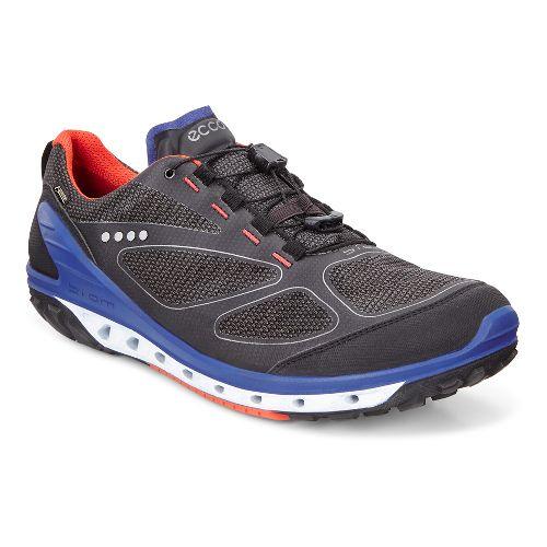 Mens Ecco Biom Venture GTX Casual Shoe - Black/Grey/Fire 45