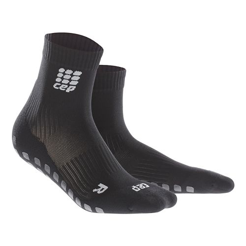 Womens CEP Griptech Short Socks Injury Recovery - Black S