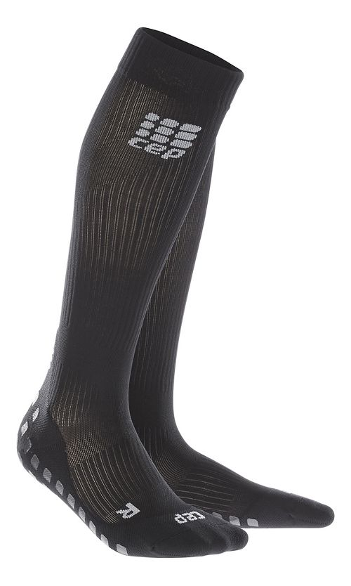 Womens CEP Griptech Socks Injury Recovery - Black S