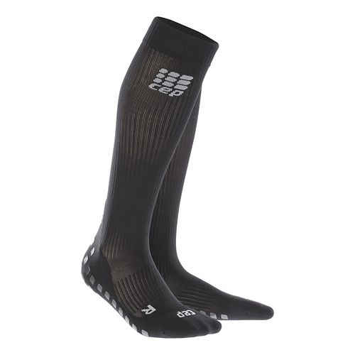 Womens CEP Griptech Socks Injury Recovery - Black L