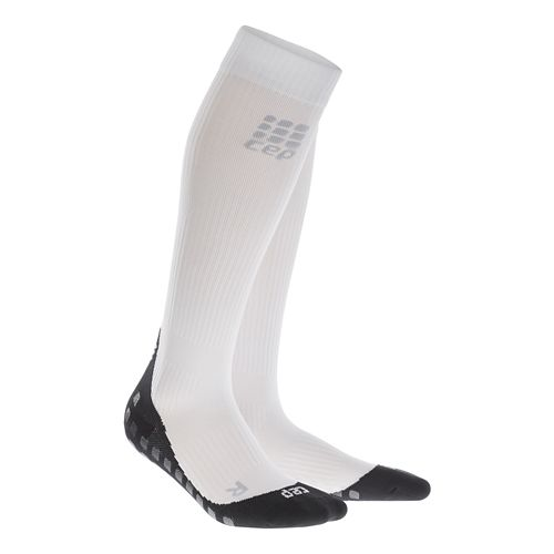 Womens CEP Griptech Socks Injury Recovery - White M