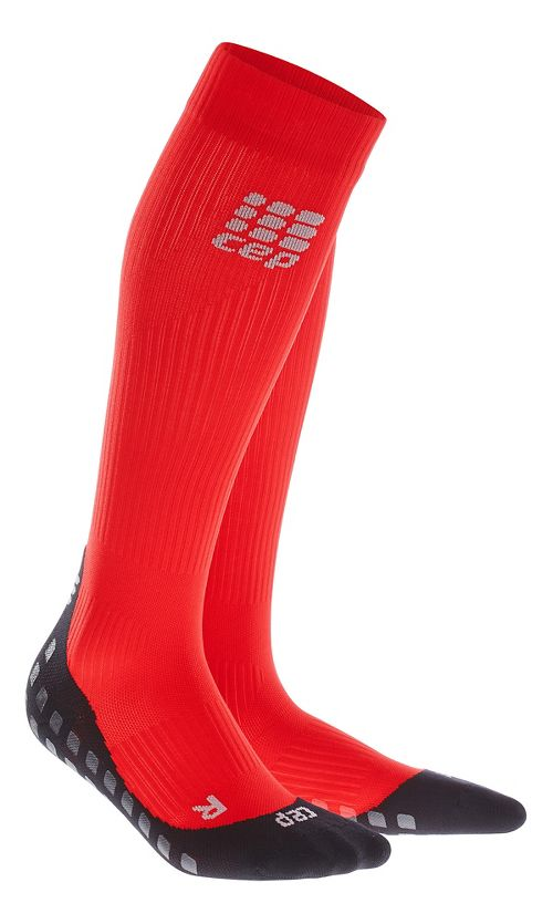 Womens CEP Griptech Socks Injury Recovery - Red M