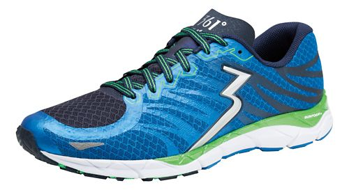 Mens 361 Degrees KgM2 2 Running Shoe - Sapphire/Green Apple 11
