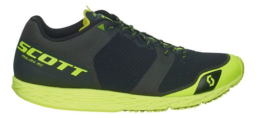 Mens Scott Palani RC Running Shoe - Black/Yellow 12.5