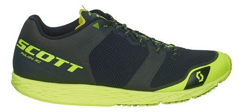 Mens Scott Palani RC Running Shoe - Black/Yellow 9.5