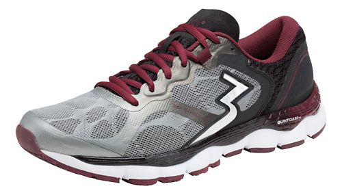 Mens 361 Degrees Shield 2 Running Shoe - Grey/Chili 9.5