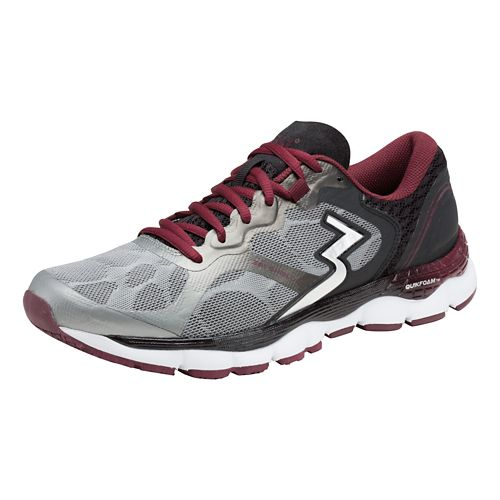 Mens 361 Degrees Shield 2 Running Shoe - Grey/Chili 7.5