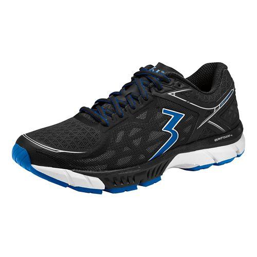 Mens 361 Degrees Spire 2 Running Shoe - Black/Nautical Blue 11