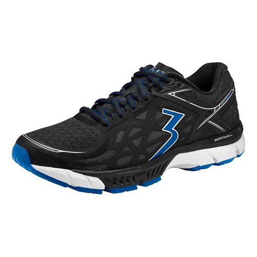 Mens 361 Degrees Spire 2 Running Shoe - Black/Nautical Blue 13