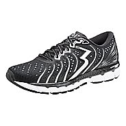 Mens 361 Degrees Stratomic Running Shoe - Black/Silver 11.5
