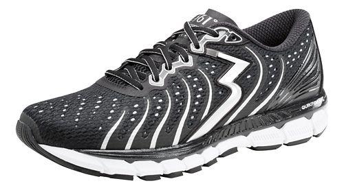 Mens 361 Degrees Stratomic Running Shoe - Black/Silver 8