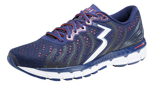 Mens 361 Degrees Stratomic Running Shoe - Blueprint/Raft 8