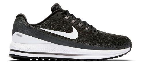 Mens Nike Air Zoom Vomero 13 Running Shoe - Black/White 10