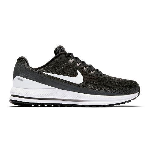 Mens Nike Air Zoom Vomero 13 Running Shoe - Black/White 10