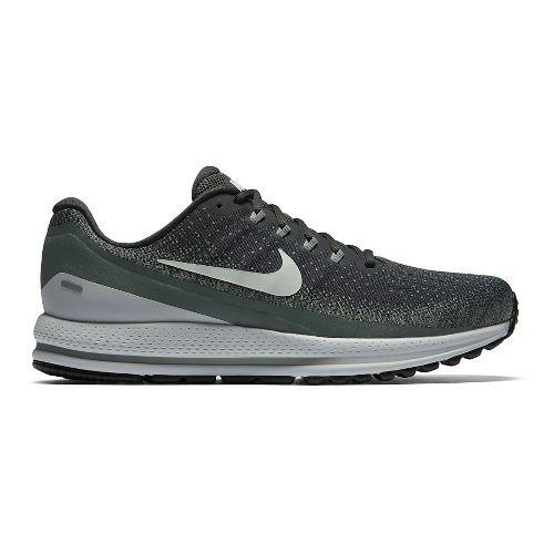 Mens Nike Air Zoom Vomero 13 Running Shoe - Dark Green 7.5