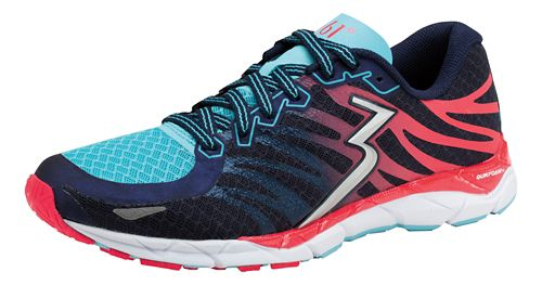 Womens 361 Degrees KgM2 2 Running Shoe - Midnight/Diva Pink 9.5