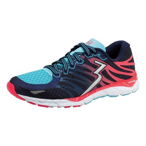 Womens 361 Degrees KgM2 2 Running Shoe - Midnight/Diva Pink 7.5