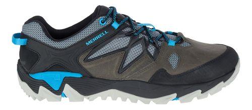 Mens Merrell All Out Blaze 2 Hiking Shoe - Turbulence/Cyan 12
