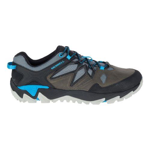 Mens Merrell All Out Blaze 2 Hiking Shoe - Turbulence/Cyan 10.5