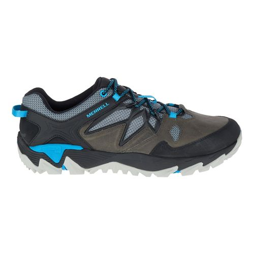 Mens Merrell All Out Blaze 2 Hiking Shoe - Turbulence/Cyan 11