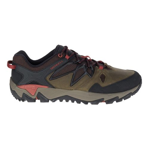 Mens Merrell All Out Blaze 2 Hiking Shoe - Dark Olive 14