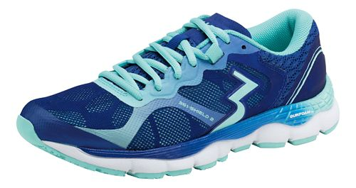 Womens 361 Degrees Shield 2 Running Shoe - Indigo/Aruba 8