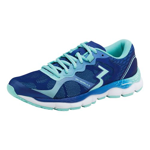 Womens 361 Degrees Shield 2 Running Shoe - Indigo/Aruba 10.5