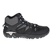 Mens Merrell All Out Blaze 2 Mid Waterproof Hiking Shoe - Black 12
