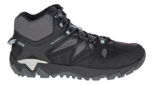 Mens Merrell All Out Blaze 2 Mid Waterproof Hiking Shoe - Black 11