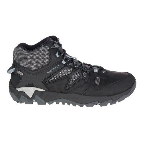 Mens Merrell All Out Blaze 2 Mid Waterproof Hiking Shoe - Black 10