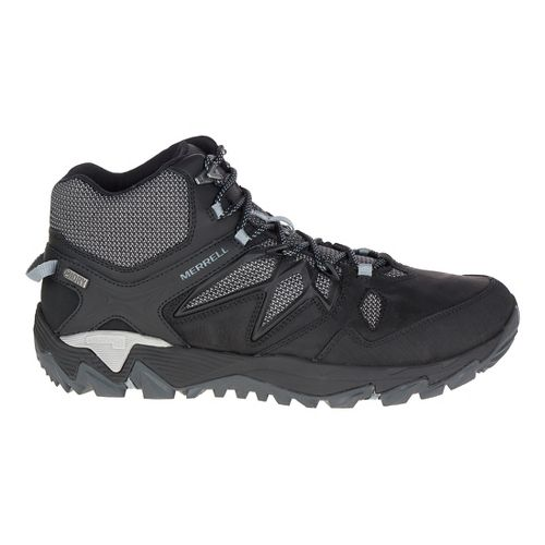 Mens Merrell All Out Blaze 2 Mid Waterproof Hiking Shoe - Black 11.5