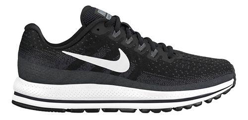 Womens Nike Air Zoom Vomero 13 Running Shoe - Black/White 12