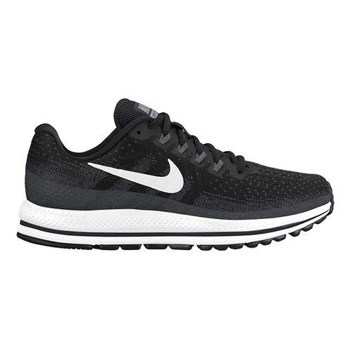 Womens Nike Air Zoom Vomero 13 Running Shoe - Black/White 5