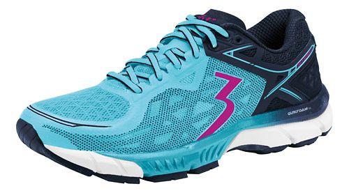 Womens 361 Degrees Spire 2 Running Shoe - Paradise/Pea coat 11.5