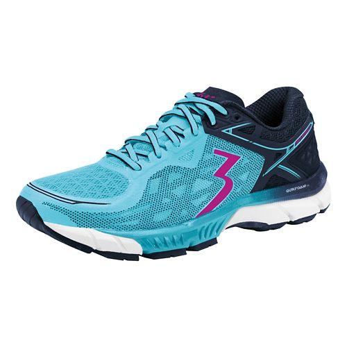 Womens 361 Degrees Spire 2 Running Shoe - Paradise/Pea coat 11