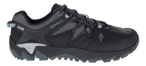 Mens Merrell All Out Blaze 2 Waterproof Hiking Shoe - Black 8