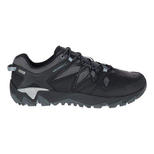 Mens Merrell All Out Blaze 2 Waterproof Hiking Shoe - Black 10.5