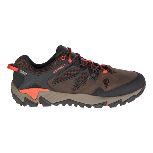 Mens Merrell All Out Blaze 2 Waterproof Hiking Shoe - Clay 10