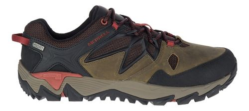 Mens Merrell All Out Blaze 2 Waterproof Hiking Shoe - Dark Olive 7.5