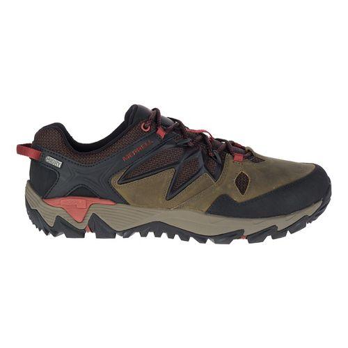 Mens Merrell All Out Blaze 2 Waterproof Hiking Shoe - Dark Olive 7