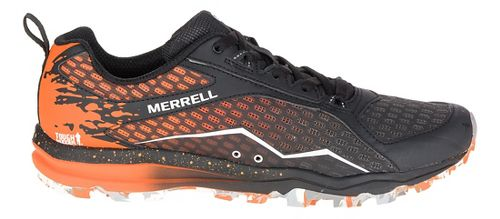 Mens Merrell All Out Crush Tough Mudder Trail Running Shoe - Orange 15