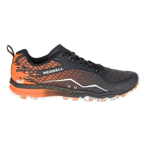 Mens Merrell All Out Crush Tough Mudder Trail Running Shoe - Orange 7.5